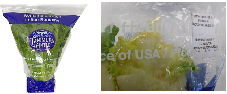 recalled romaine lettuce e. coli outbreak; FDA