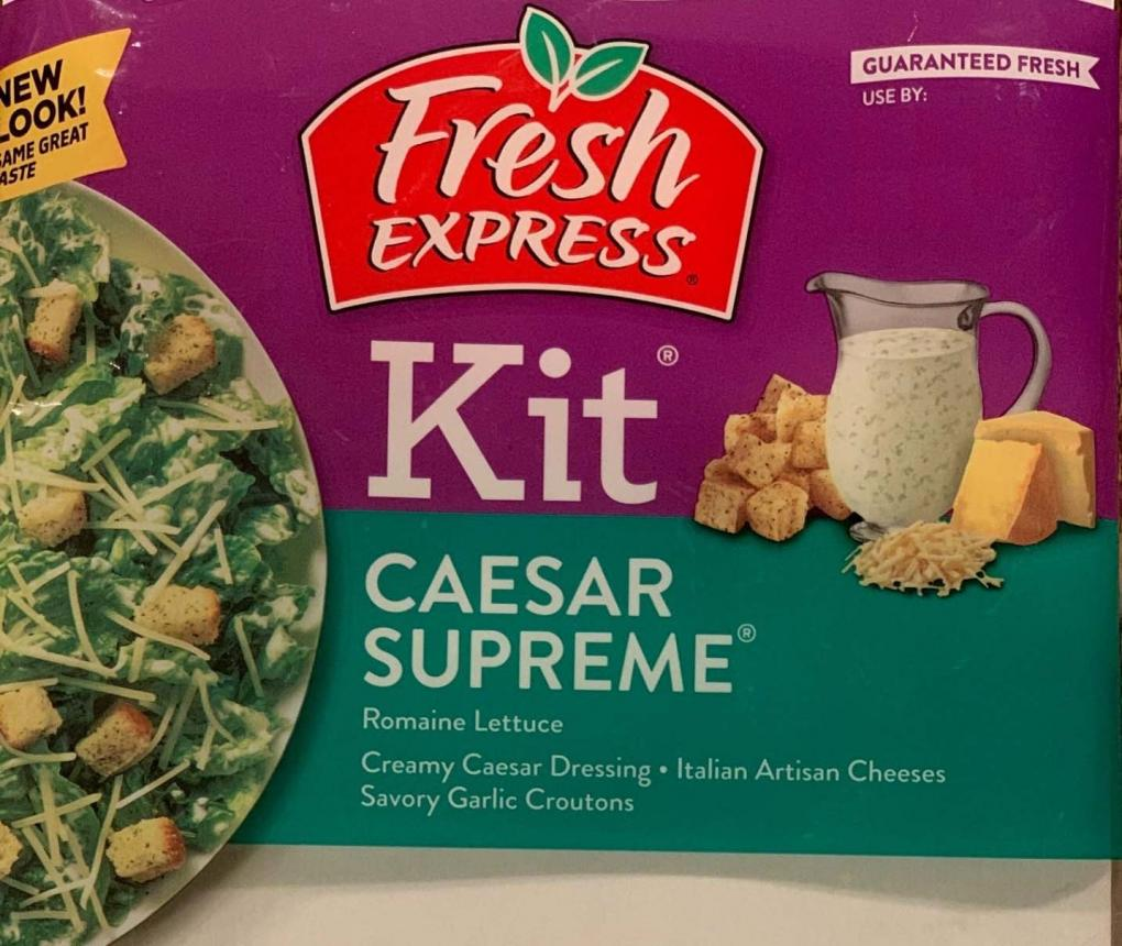 Fresh Express e. coli recall front